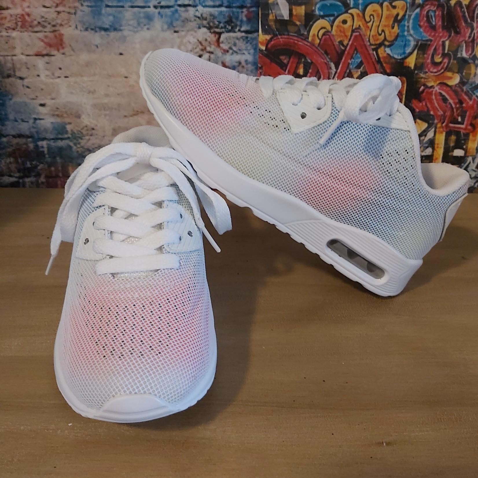 Sneaker Wit/Multicolor (Kids)