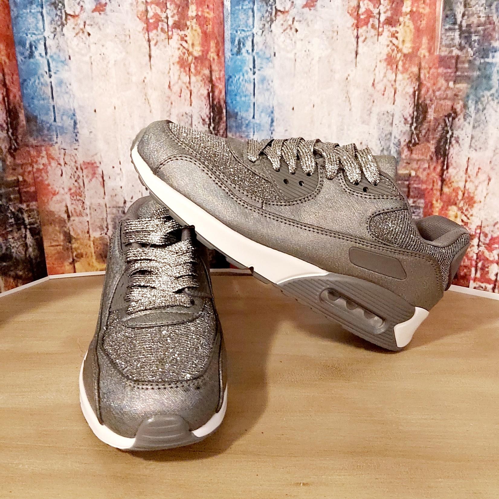 Sneaker dames Grijs/Zilver
