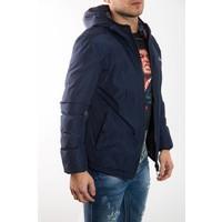 Short down jacket BLUE