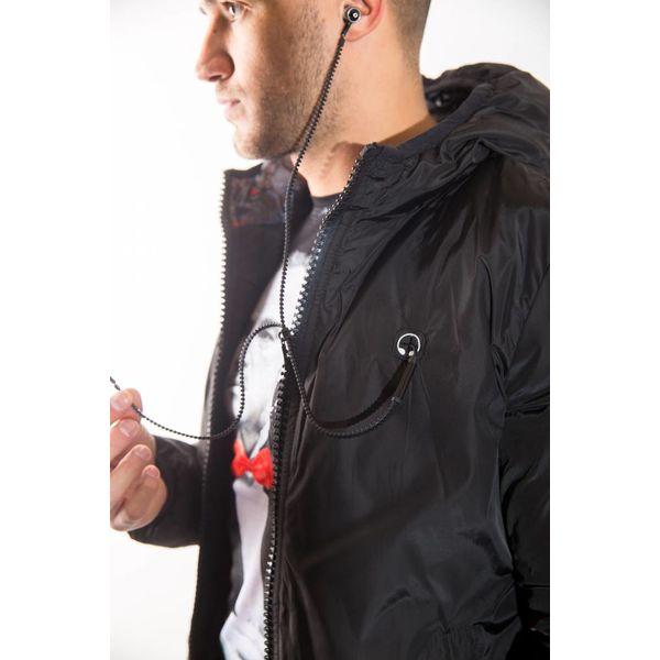 Short down jacket GREY