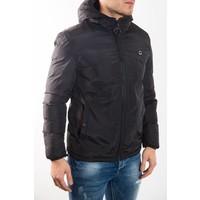 Y Short down jacket BLACK