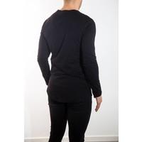 Y basic longsleeve shirt Black