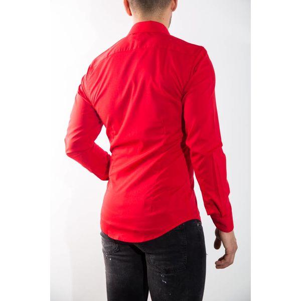 Y Blouse slim fit RED