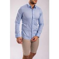 Y Slim fit hemd   Baby blue