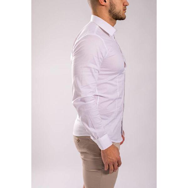 Y Slim fit hemd White