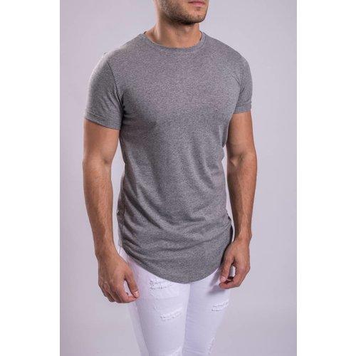 FR 2050 T-shirt basic long Grey