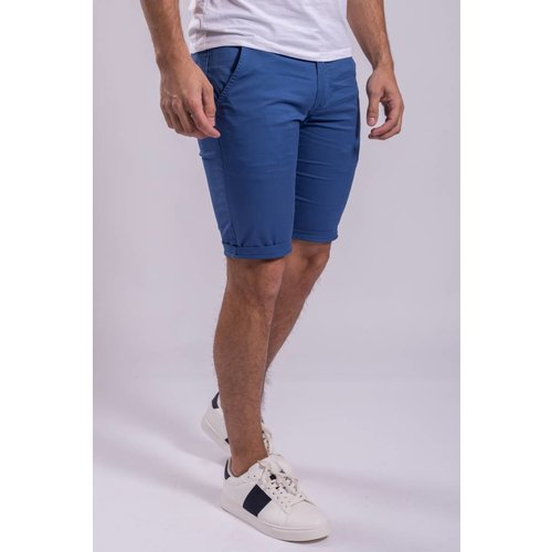 Y Chino shorts stretch Blue