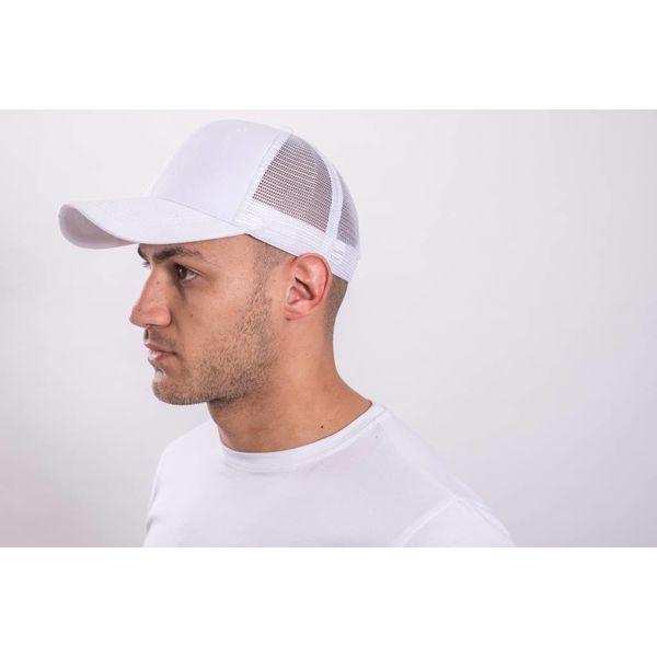 Y Mesh cap White