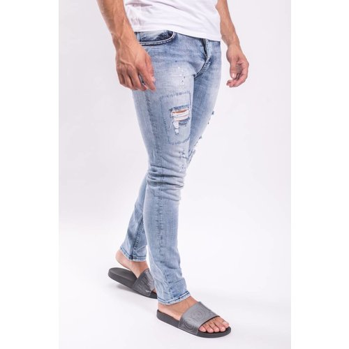 Slim fit jeans 2Y Light Blue / splashed