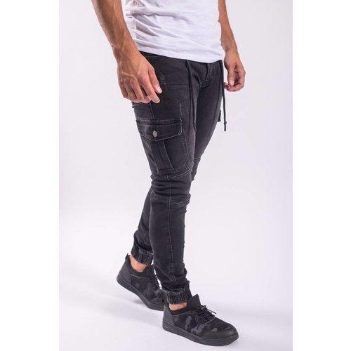 Y Cargo jeans BLACK
