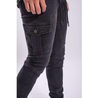 Cargo jeans BLACK