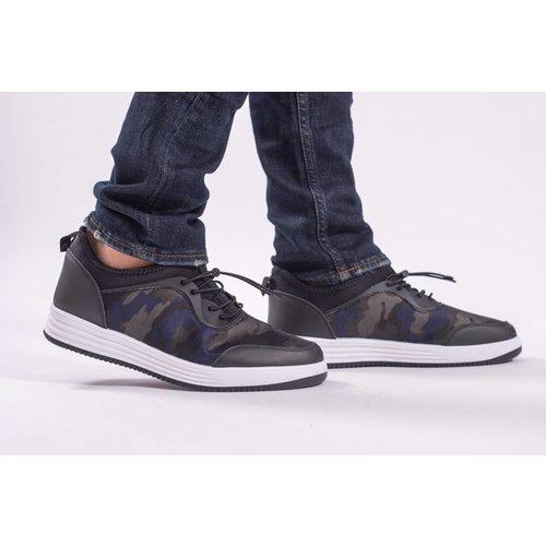 Y Sneakers camo Black/White/Navy
