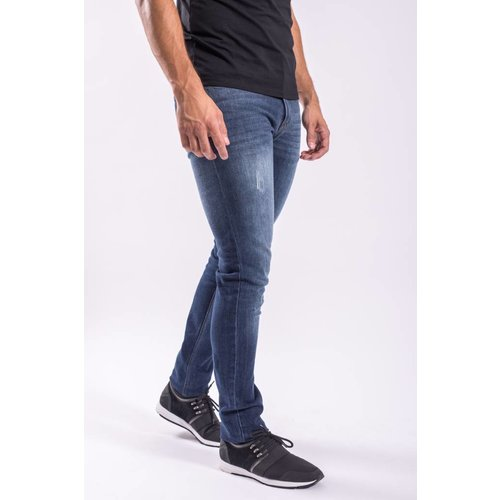 Jeans basic slim fit stretch PB BLUE stone
