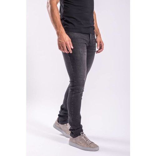 Jeans basic slim fit stretch PB BLACK stone