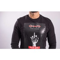 "Sweater ""F*ck the world""  Black"