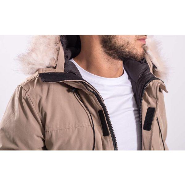Y Winterjas / parka long (faux fur) Beige