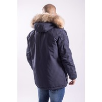 Y Winter parka / jas (real fur) DARK BLUE