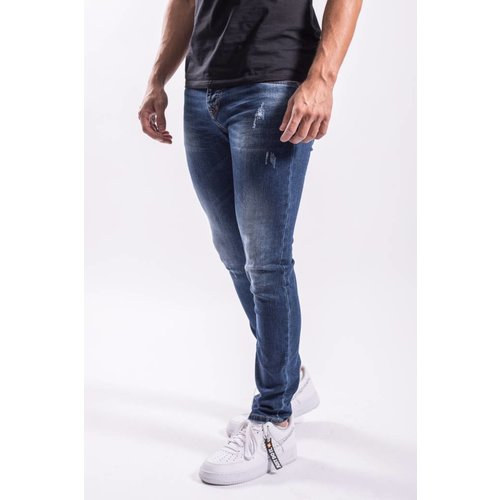 Slim fit jeans stretch Basic Blue
