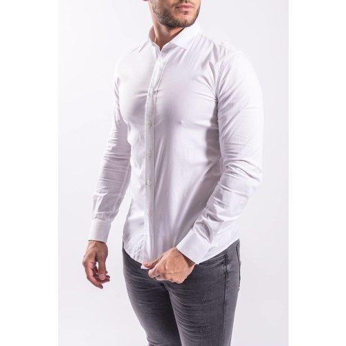 Y Slim fit blouse  WHITE