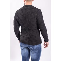 Knitted sweater Black