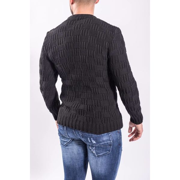 Y Knitted sweater Black