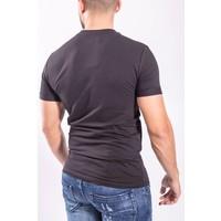 Y T-shirt basic BLACK