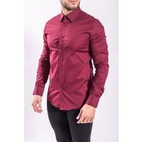 Slim fit blouse BORDEAUX