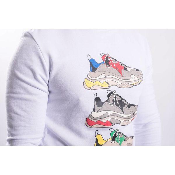 "Sweater ""shoe game"" WHITE"