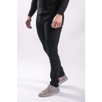 Skinny fit stretch jeans total BLACK