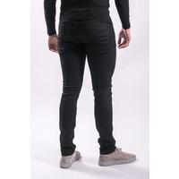 Y Skinny fit stretch jeans total BLACK