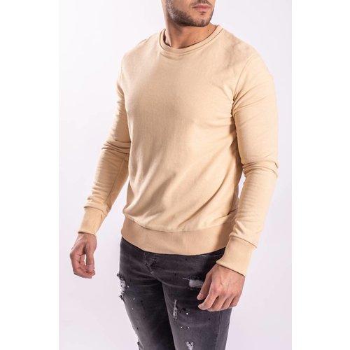 Sweater Crewneck Beige
