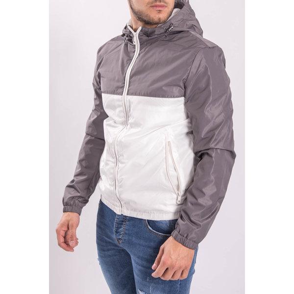 Y Jacket bicolor Grey / White