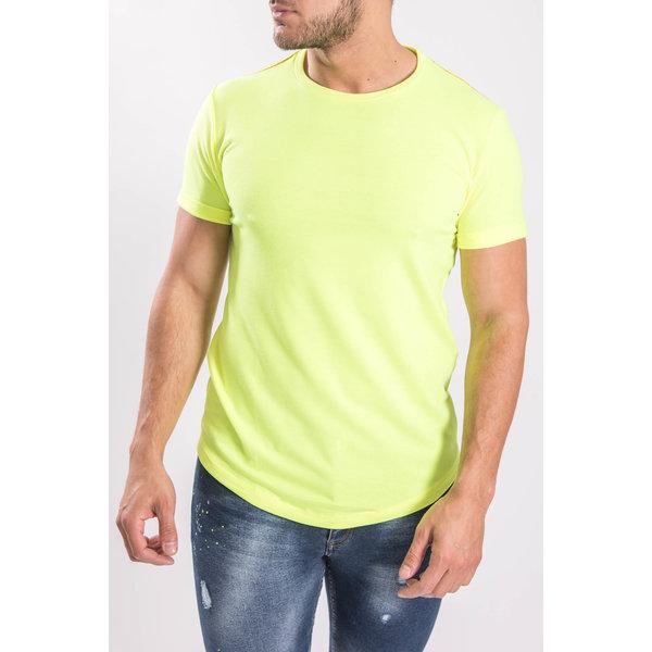 Herenmode Shirt T Winkel Neon Yugo En Heerlen Yellow Menswear 8nXwO0Pk