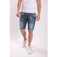 Y JEANS SHORTS BLUE
