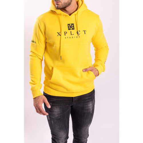 Y XPLCT Brand Hoodie Yellow