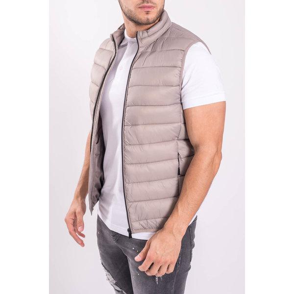 Y Bodywarmer Beige / Grey