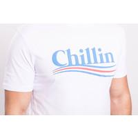 "Y T-shirt ""Chillin"" White"