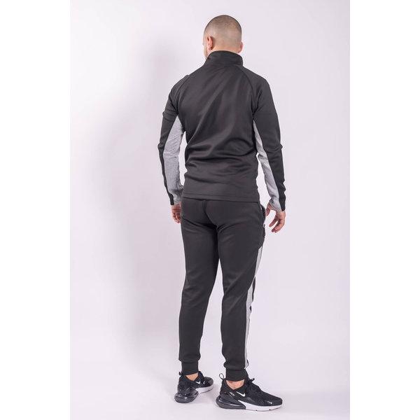 Y Tracksuit Black / Grey