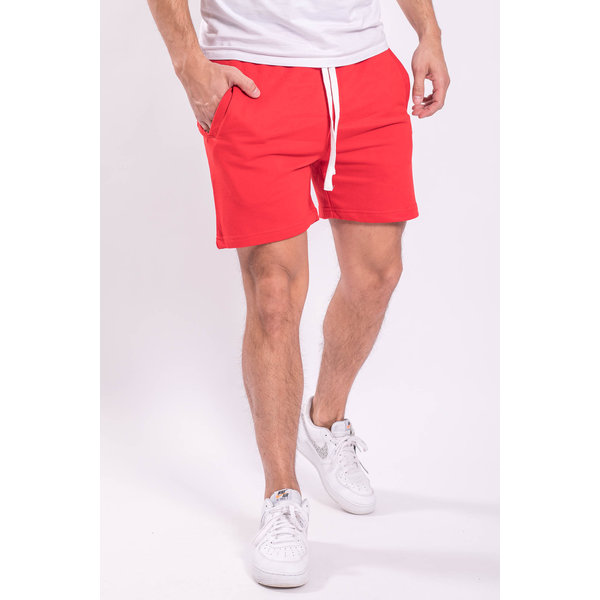 Y Shorts cotton Red
