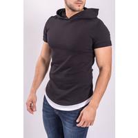 "T-shirt ""assassin"" with Hood Black"