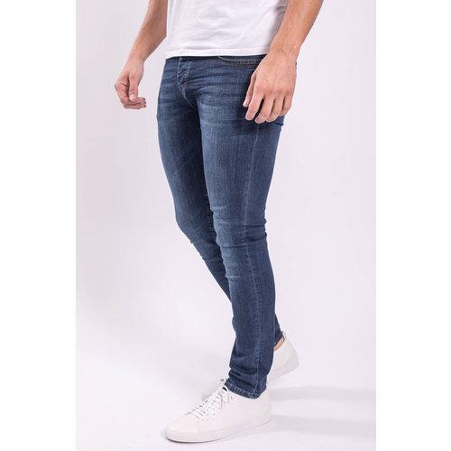 Y Skinny fit stretch jeans Basic Dark blue