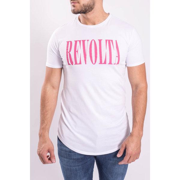 "Y T-shirt ""Revolta/Libertad"" White"