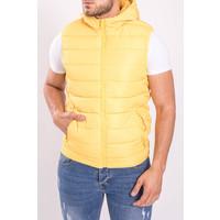 Y Bodywarmer Hooded Lemon Yellow