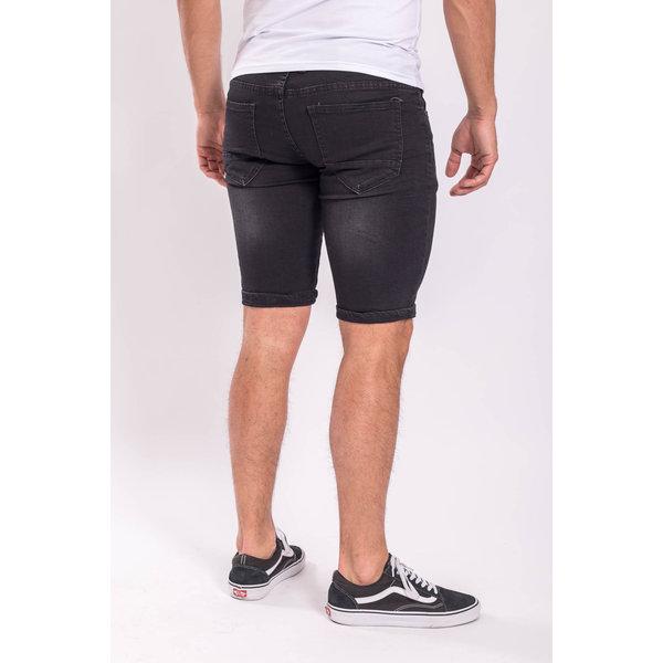 Y Jeans stretch shorts Black