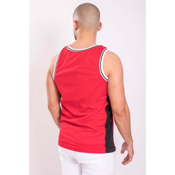 "Y Basketball Jersey ""icons"" Red"