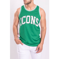 """Y Basketball Jersey """"icons"""" Green"""