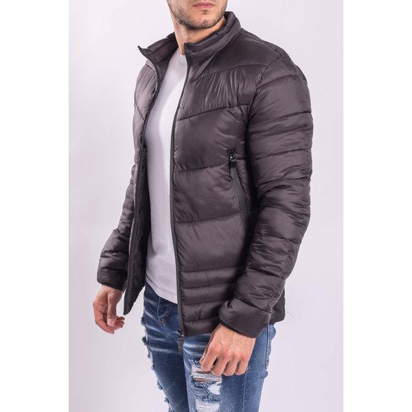 Y Down multi Jacket Black