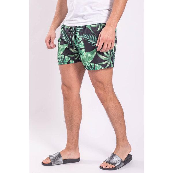 Y Zwembroek Jungle Black / green