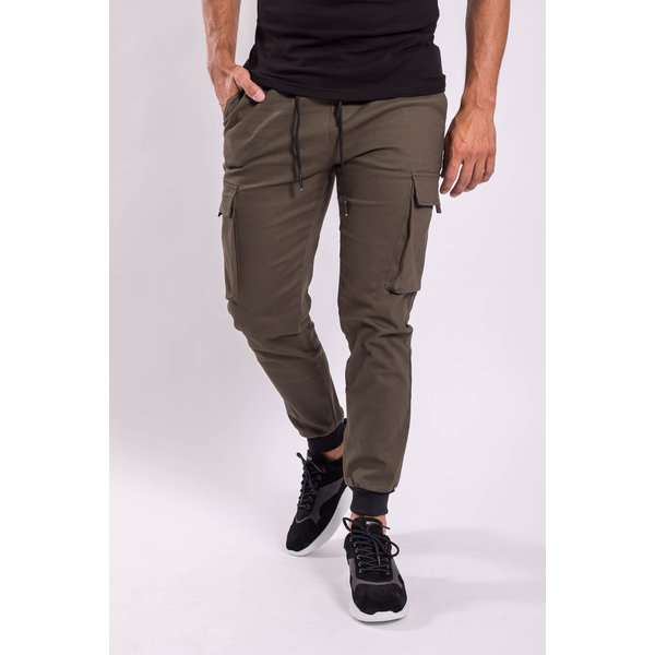 Y Cargo Pants  Army Green