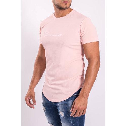 """Y T-shirt """"revolta"""" rose"""